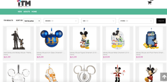 Inside the Magic Store Product Page