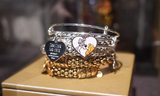 """Lady and the Tramp"" Alex and Ani Bracelet at Walt Disney World"
