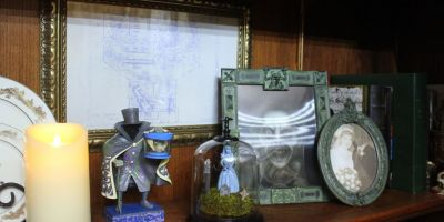 Haunted Mansion home office