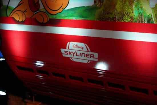 Disney Skyliner Gondola at D23 Destination D