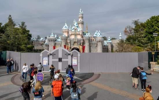 Sleeping Beauty Castle closes for refurbishment