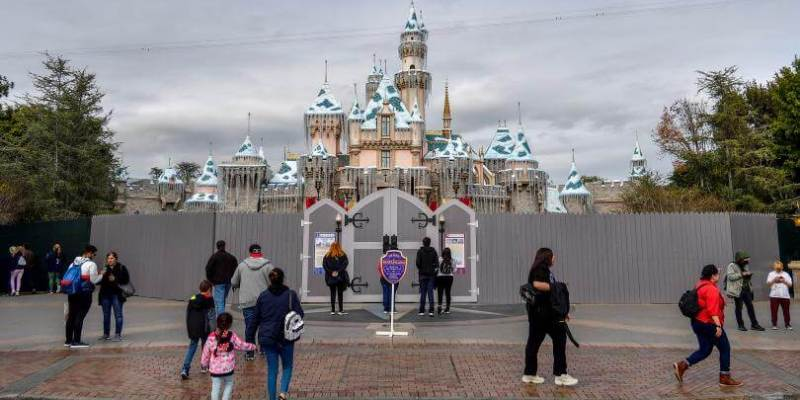 Sleeping Beauty Castle refurbishment