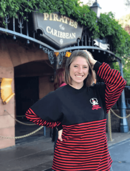 Pirates of the Caribbean spirit jersey