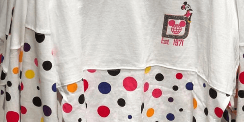 Polka Dot Minnie Mouse Spirit Jersey