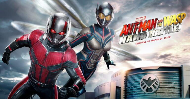Ant-Man and the Wasp attraction