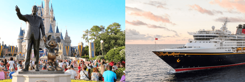 Disney cruise line & walt disney world