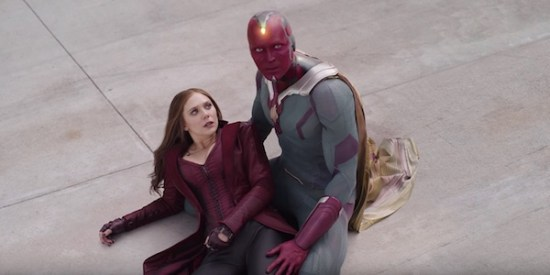 Marvel's Vision and Scarlet Witch
