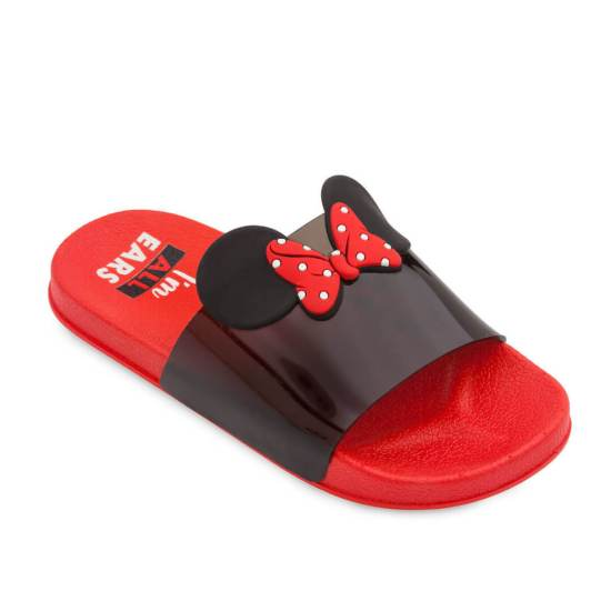 Minnie Mouse Sandals for Kids - Red