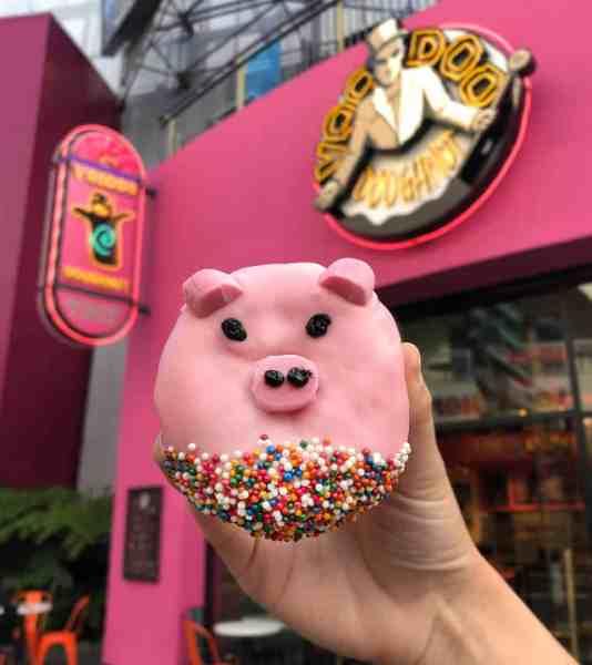pig doughnut