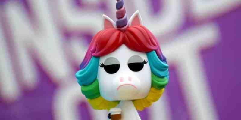 rainbow unicorn funko