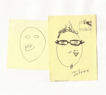 2 More Portraits of Jefre, Artist Unknown. 2009