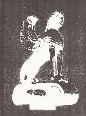 The Sphinx of Delphi (Delphi Museum, Greece) 4, Jefre Harwoods. 600 B.C.E./1993/2001-2003