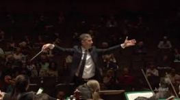 Benjamin Hochman conducting the Juilliard Orchestra