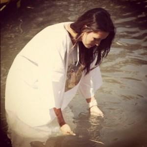 Natalia Love baptism