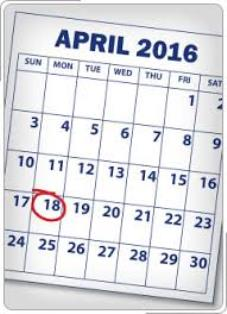 2016 Tax Deadline and homeless people