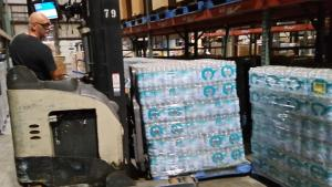 Walmart prepares to deliver one million water bottles to affected areas across Louisiana.