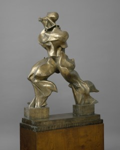 , Umberto Boccioni, Forme uniche della continuità nello spazio, 1913
