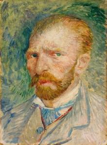 Vincent Van Gogh, autoritratto senza cappello