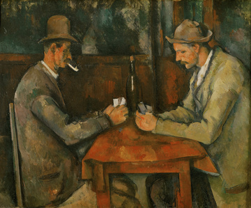 Paul Cézanne, I giocatori di carte, 1890-1895,