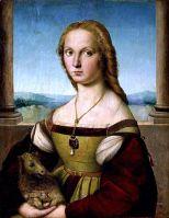 Raffaello Sanzio, Ritratto di dama con liocorno, Roma Galleria Borghese