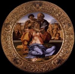 Michelangelo Buonarroti, La sacra famiglia del Tondo Doni