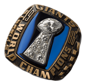 NFL Blog - 49 Super Bowl Rings: 1986 New York Giants 1