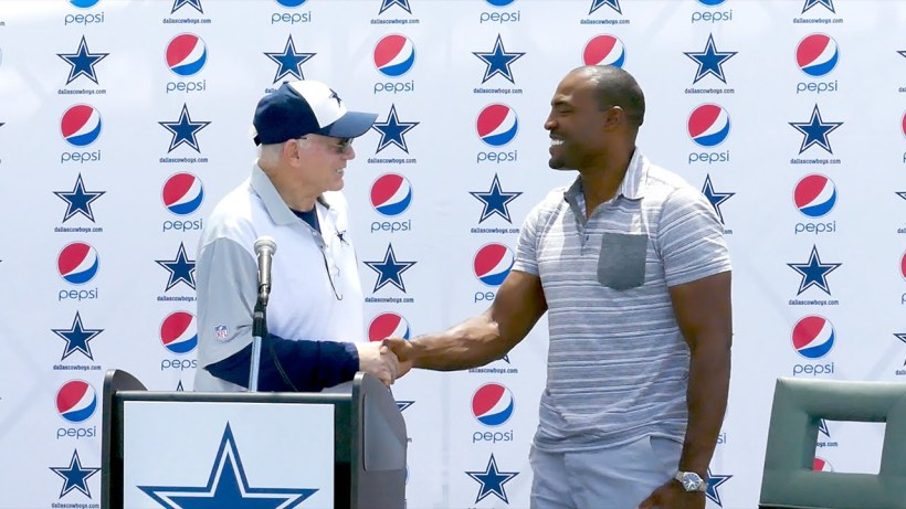 Cowboys Blog - Cowboys CTK: New Ring Of Honor Member Darren Woodson Tackles #28 4