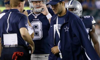 News & Notes - Tony Romo Expected To Miss Next 8 Weeks