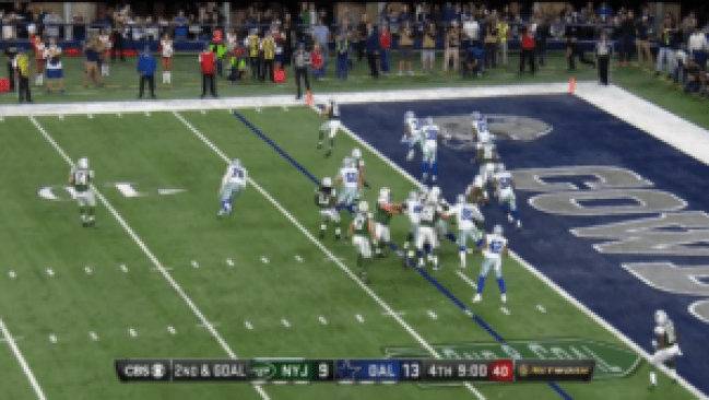 Cowboys Blog - Dallas Cowboys Film: What Went Wrong on 4th Quarter Touchdown?