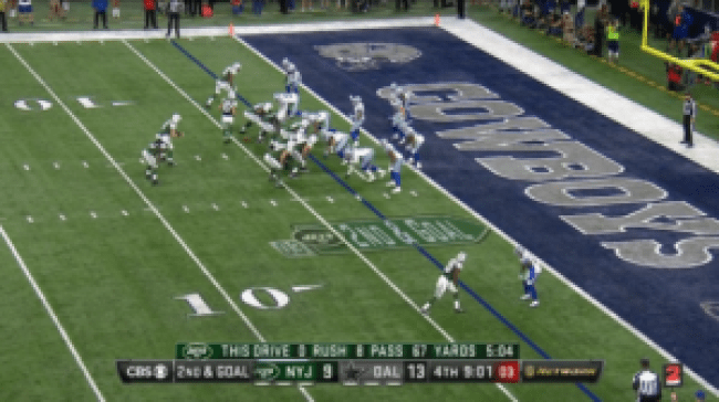 Cowboys Blog - Dallas Cowboys Film: What Went Wrong on 4th Quarter Touchdown? 2