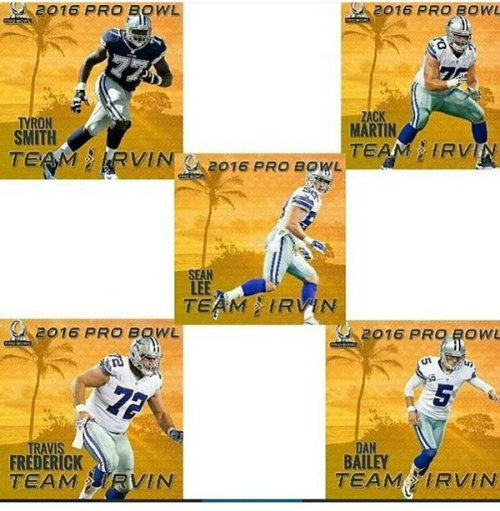 Cowboys Blog - Pro Bowl: Where the Cowboys ended up