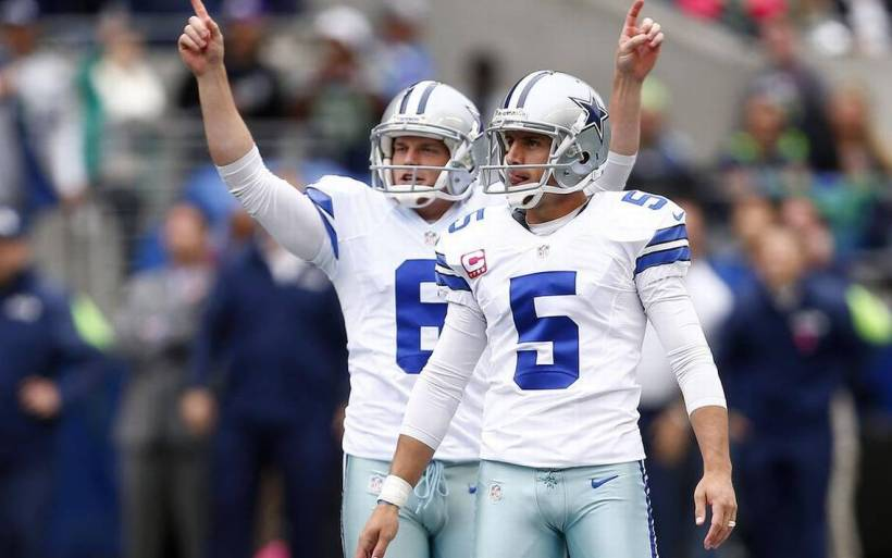 Dan Bailey and Chris Jones