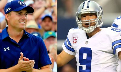 Cowboys Headlines - [VIDEO] Tony Romo In New Jordan Spieth Commercial 2