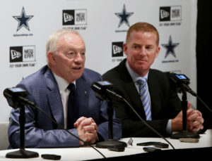 Jerry Jones, Jason Garrett, Press Conference
