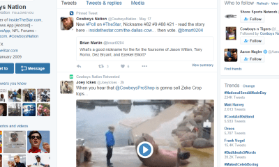 Cowboys Headlines - Tweet Break: Best of #Cowboys Twitter for May 20th