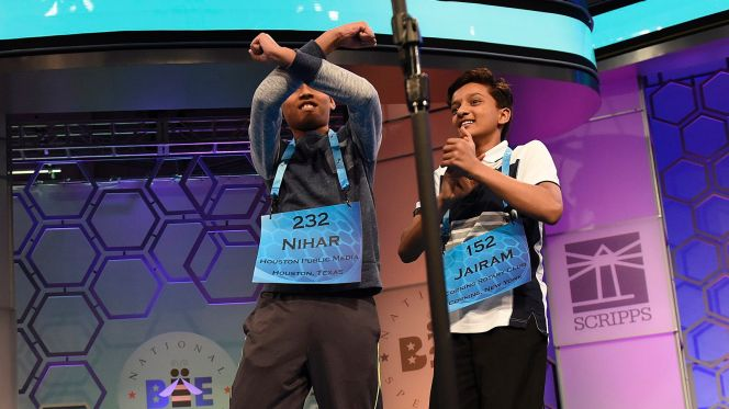 Cowboys Headlines - D-E-Z: Bryant Meets Spelling Bee Co-Champion Nahir Janga 1
