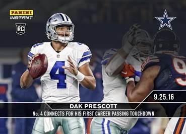 Cowboys Headlines - Panini Unveiling Ezekiel Elliott And Dak Prescott Rookie Cards 1