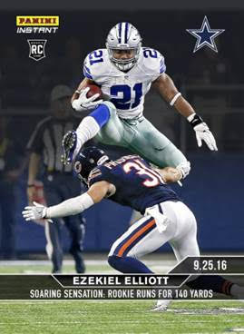 Cowboys Headlines - Panini Unveiling Ezekiel Elliott And Dak Prescott Rookie Cards 2
