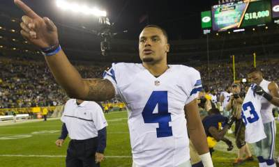 Cowboys Headlines - Candid Dak Prescott Talks Cowboys Legends And 2016 Teammates In Panini Unwrapped 1