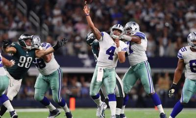 Dak Prescott, Offensive Line, Eagles