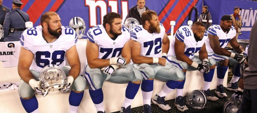 Offensive Line, Doug Free, Zack Martin, Travis Frederick, Ronald Leary, Ron Leary, Tyron Smith