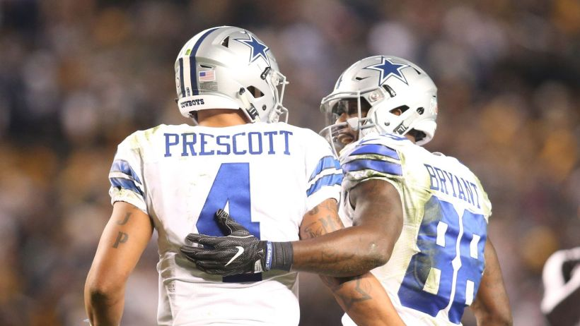 Dak Prescott and Dez Bryant