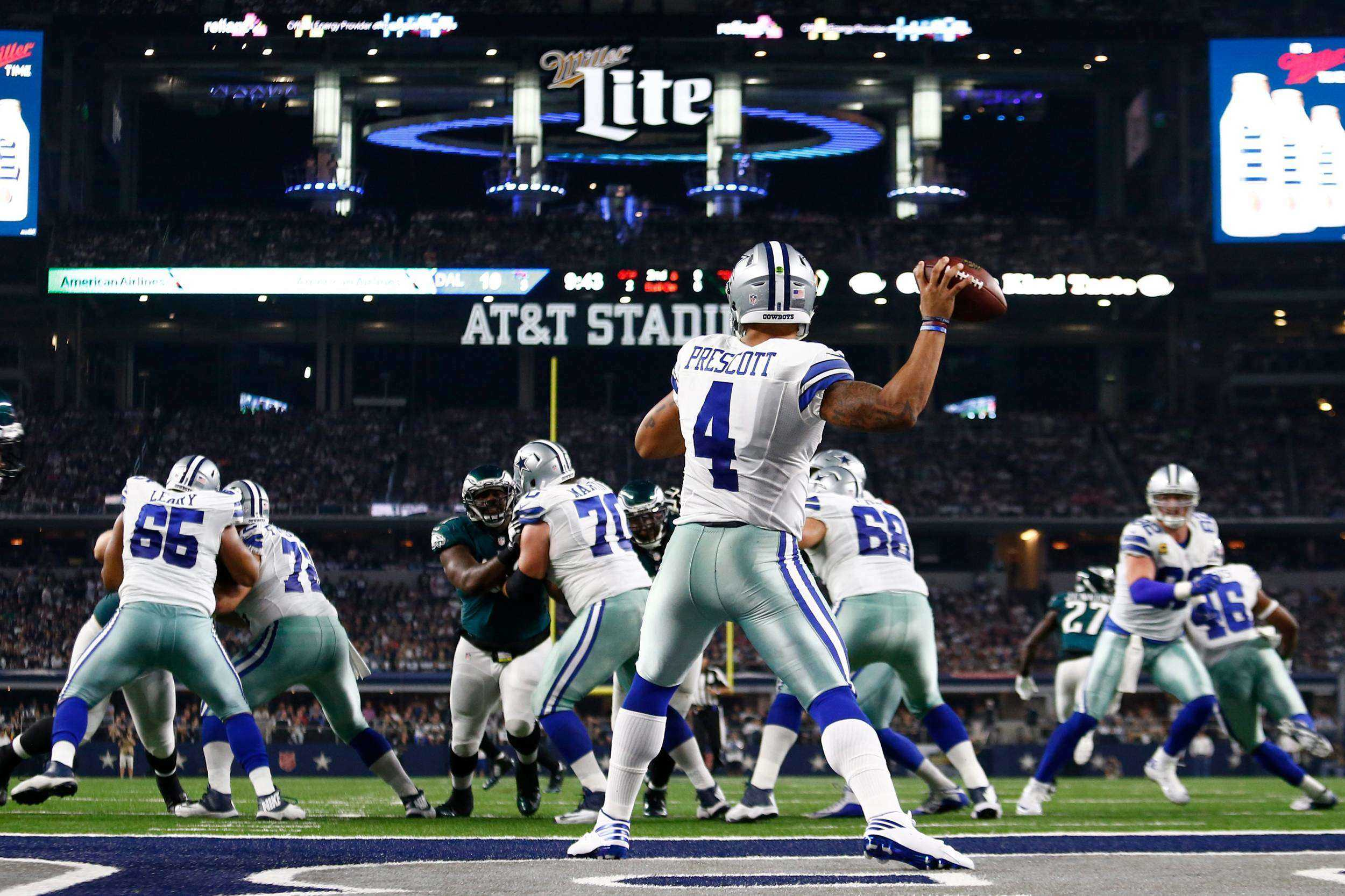 dd9434a205b63 Dallas Cowboys Player Profile - QB  4 Dak Prescott