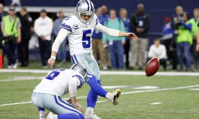 Dan Bailey Kicked With Herniated Disc Since Week 4