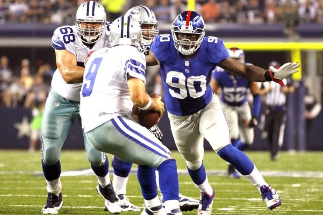 Cowboys Headlines - Could This Current Giants' Pass Rusher Be A Cowboy In 2017?