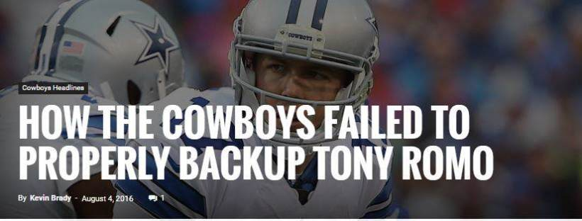 Road To 13-3: The Worst Cowboys Takes From 2016 5