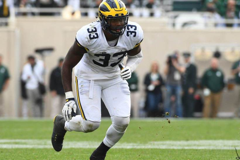 Dallas Cowboys 2017 NFL Draft Target: Michigan DE Taco Charlton