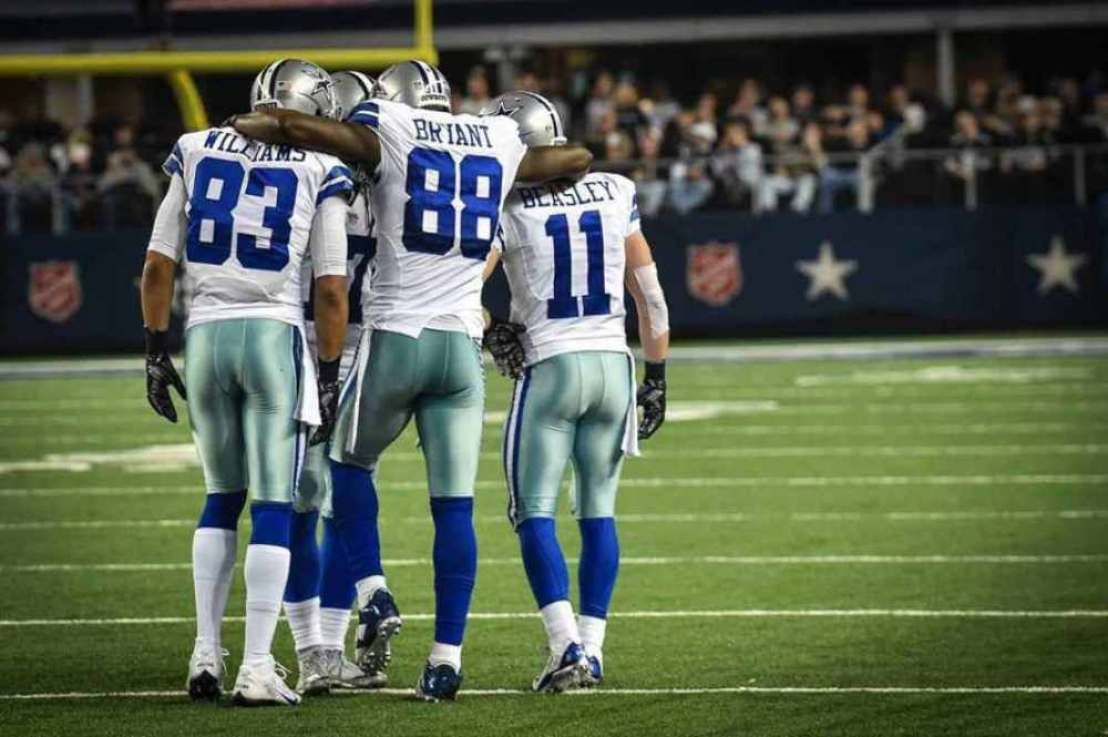Dez Bryant, Terrance Williams, Cole Beasley