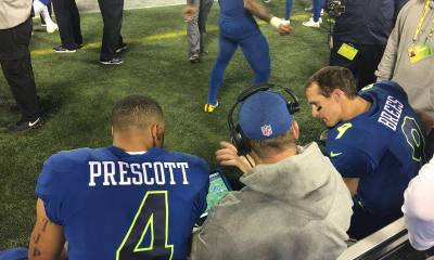 Dak Prescott, Drew Brees