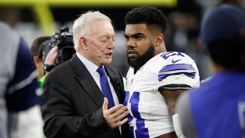 Jerry Jones, Ezekiel Elliott